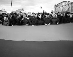 Митингующие в Харькове решили создать Народную республику