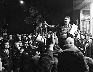 Шахтеры Краснодона требуют вернуть им зарплату до среднего уровня по Донбассу