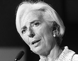 Глава МВФ предупредила об опасности санкций в ситуации с Украиной