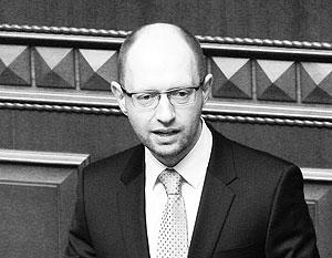 Яценюк назвал виновных в трагедии в Одессе