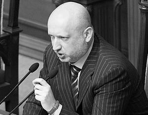 Турчинов признал, что многие жители Востока Украины поддерживают ополченцев