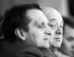 Официальные биографии Михаила Фрадкова (слева) и Сергея Нарышкина до назначения в СВР не были связаны с работой в спецслужбах