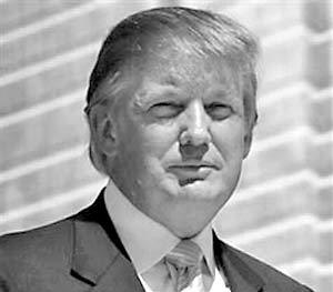 Американский миллиардер Дональд Трамп