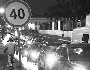 Общество: Собянин решил пока не снижать скорость в центре Москвы