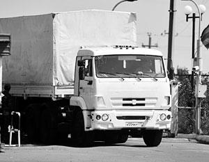 Ополченцы сообщили о прибытии гумконвоя в Луганск