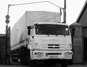 Третий гуманитарный конвой для Луганска готов к отправке из Ростовской области M706059