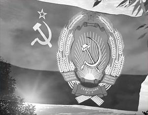 Флаг Украинской ССР уже не актуален, но принадлежность Украины к русскому миру бесспорна