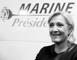 Шансы Марин Ле Пен на победу на президентских выборах растут, шансы Франсуа Фийона снижаются