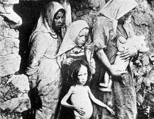Несмотря на «обилие ресурсов», старая Россия регулярно переживала голод – как в Поволжье сразу после Гражданской войны