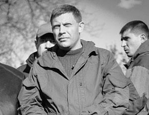 «Мы сейчас пытаемся соединиться с ЛНР, тем самым выровняем линию фронта», – сообщил Захарченко