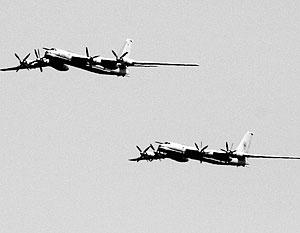Российские бомбардировщики совершили 19-часовой перелет над Атлантикой