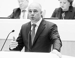 По словам министра финансов россии