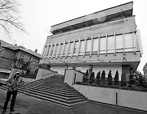 Офис телеканала «Интер», принадлежащего Фирташу и Левочкину