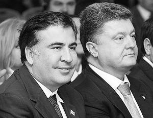 Саакашвили обещает, что в статусе помощника Порошенко будет координировать поставки оружия Киеву