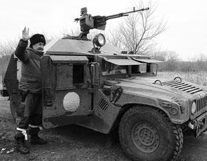 Покинувшие Дебальцево войска оставили ополчению вооружение иностранного производства