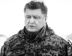 Петр Порошенко надеется рано или поздно, скорее поздно, вернуть себе Крым