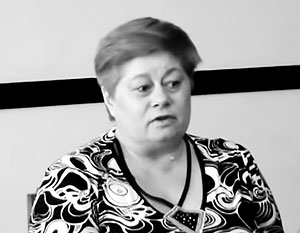 Жертвой травли молодых националистов стала преподавательница Львовского университета Ольга Загульская