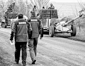 Есть некоторые сомнения в беспристрастности наблюдателей ОБСЕ, работающих на Украине