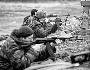 Батальонные тактические учения с боевой стрельбой проходят в ДНР
