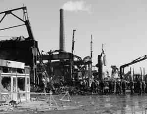 Торговый центр построили в цеху завода «Серп и молот»