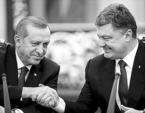 Порошенко и Эрдоган провели трехчасовые переговоры с глазу на глаз