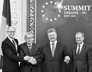 Киевские лидеры пытаются сохранить хорошую мину при плохой игре – саммит показал, что «европейское будущее» Украине пока не светит