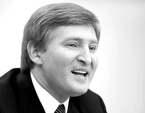 Возглавил список совладелец компании SCM, президент футбольного «Шахтер» депутат Ринат Ахметов