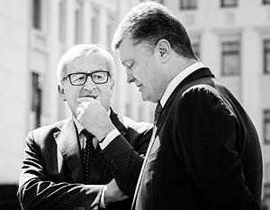 Главе Еврокомиссии Юнкеру нечем порадовать президента Порошенко
