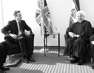 У Великобритании, в отличие от США, есть дипломатические отношения с Ираном