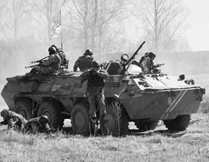 Украинские силовики регулярно обстреливают Донецк из танков, минометов и тяжелой артиллерии