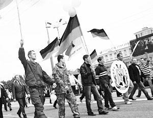 Более 30 тысяч человек приняли участие в параде независимости в Донецке