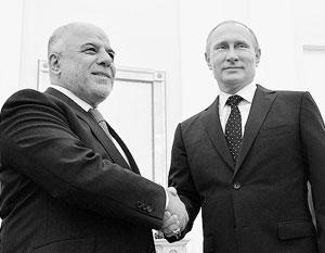 Премьер-министр Ирака заручился поддержкой Москвы