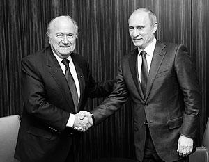 Путин считает, что США намеренно давят на Блаттера