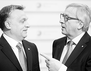 Жан-Клод Юнкер, называя Виктора Орбана «диктатором», шутил лишь отчасти