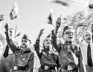 Российских детей воспитают патриотами