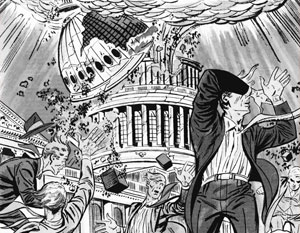 В 50-е годы в США так представляли себе ядерную войну