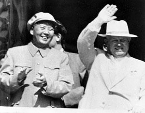 Согласно ряду источников, Мао прямо призывал Хрущева к атомной войне против США