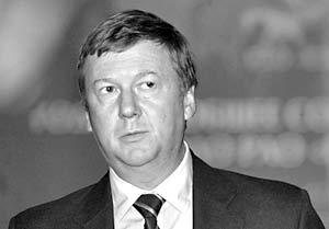 Глава РАО «ЕЭС» Анатолий Чубайс