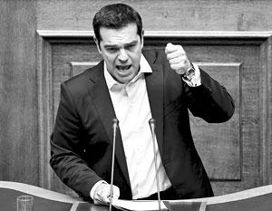 «Нет» не означает разрыва с Европой, но это означает возвращение в Европу настоящих ценностей, провозгласил Ципрас