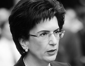 В Москве Нино Бурджанадзе, по ее словам, намерена обсудить борьбу с ИГИЛ, поскольку в этом интересы России и Грузии совпадают