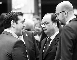 Переговоры по разрешению долгового кризиса в Греции шли непрерывно с полудня 12 июля