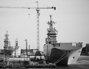 Корабли были построены с учетом требования российского заказчика