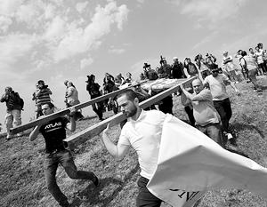 Из Тбилиси несколько раз приезжали толпы журналистов, чтобы устроить дебош в приграничных селах