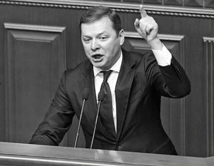Радикал Олег Ляшко может стать спасителем тонущей на глазах правящей коалиции в Раде