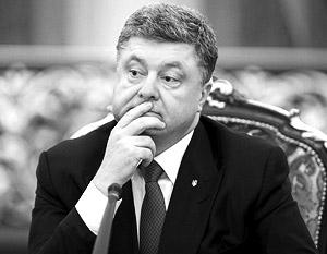 У Петра Порошенко возникли проблемы и с Западом Украины