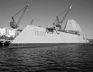 «Замволты» задумывались как корабли XXI века с соответствующим внешним видом и технологиями