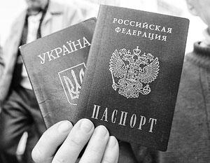 Сейчас и в ДНР, и в ЛНР признаются украинские паспорта, а в случае их утери выдается справка