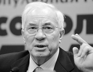«Пророссийским» политиком Азаров был только на словах