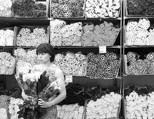 Рынок цветов в России переживает стресс
