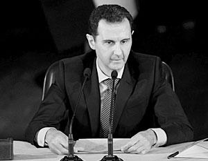 Башар Асад готов к смене власти в Сирии, но только путем народного голосования